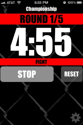 MMA Timer - Pro Mixed Martial Arts Round & Interval Timer screenshot 4