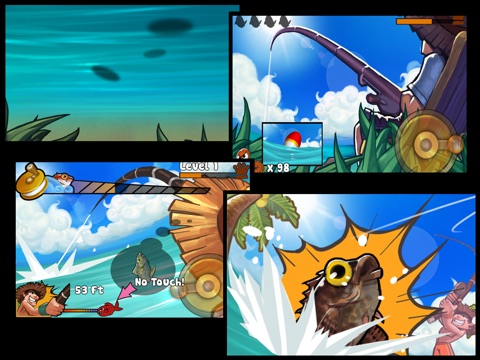 Screenshot #1 for Fishing Land