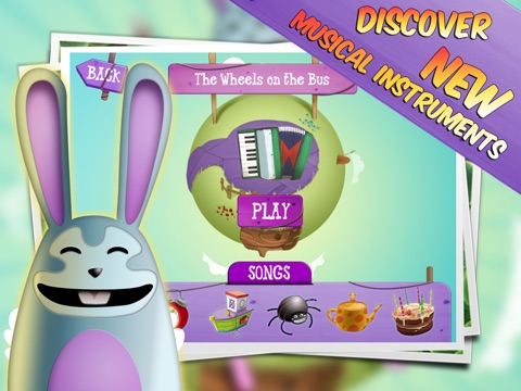 My First Accordion HD for Kids screenshot 1