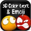 Color Text, Animated 3D Emoji & Multi Emoticons icon