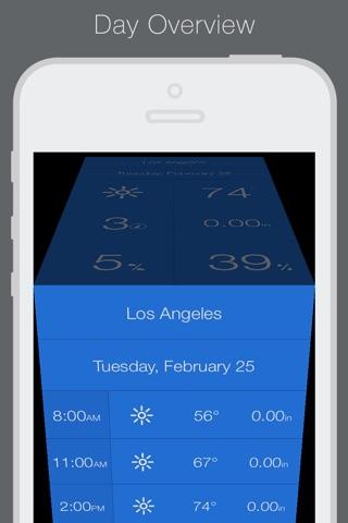 Weathercube - Gestural Weather screenshot 3