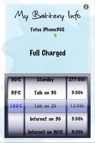 My Battery Info screenshot 1