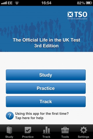 Official Life in the UK Test screenshot 1