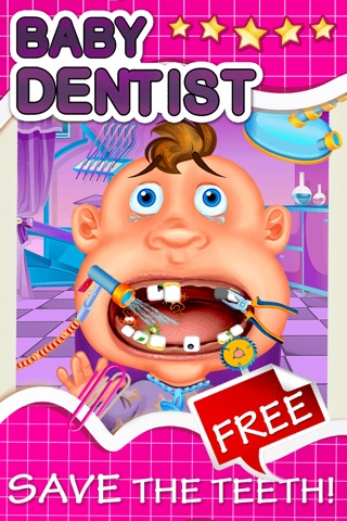 Baby Dentist Make-Over - Little Hand And Ear Doctor Salon For Fashion Kids screenshot 1