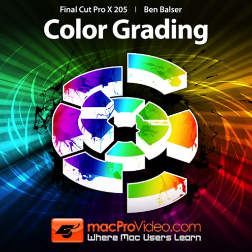 Course for Final Cut Pro X 205 - Color Grading