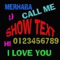 Text Show icon