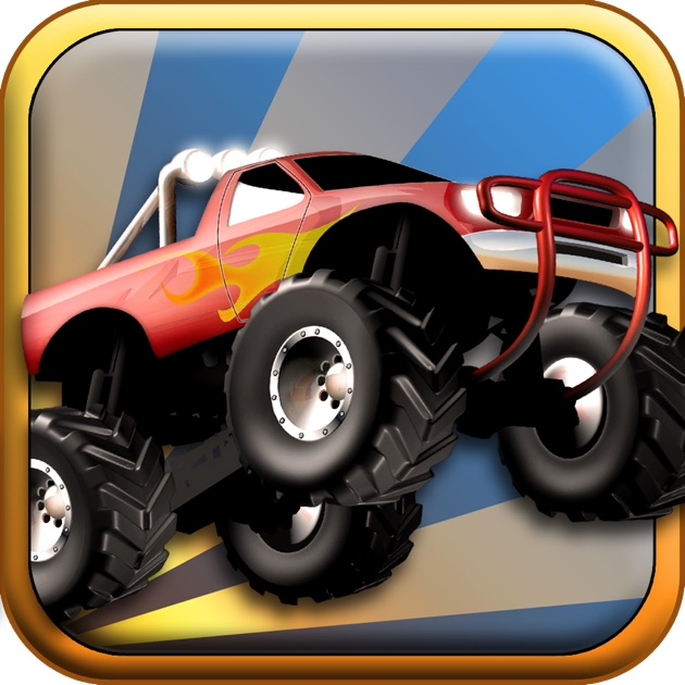 Monster Truck Run Legends Edition Offroad Jumping Over Smashed