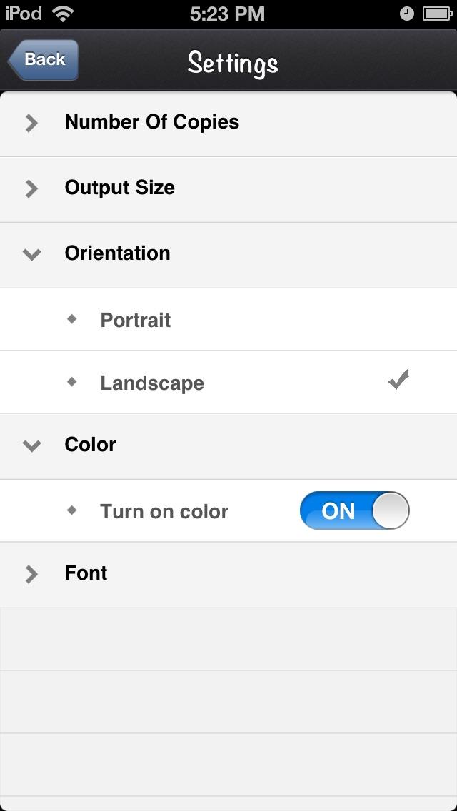 Printer for Google Drive Скриншоты7