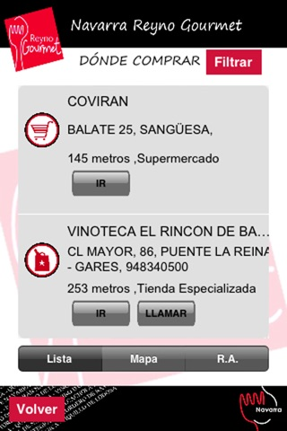 Navarra Reyno Gourmet screenshot 3