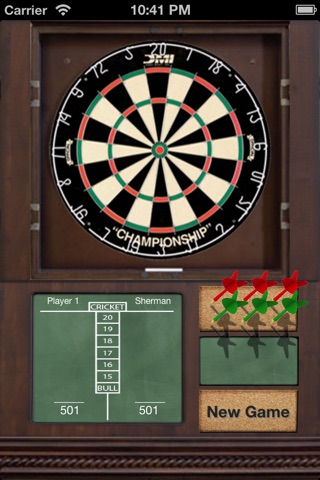 Classic Darts Lite screenshot 1