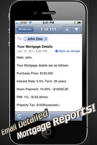 Real Estate Calc review screenshots