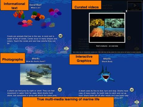 Murky Reef : 1st - 2nd Grade Reading, Science & Math screenshot 1