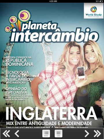 Planeta Intercâmbio screenshot 2