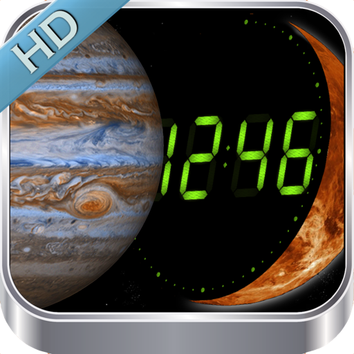 Planet Clocks 3D
