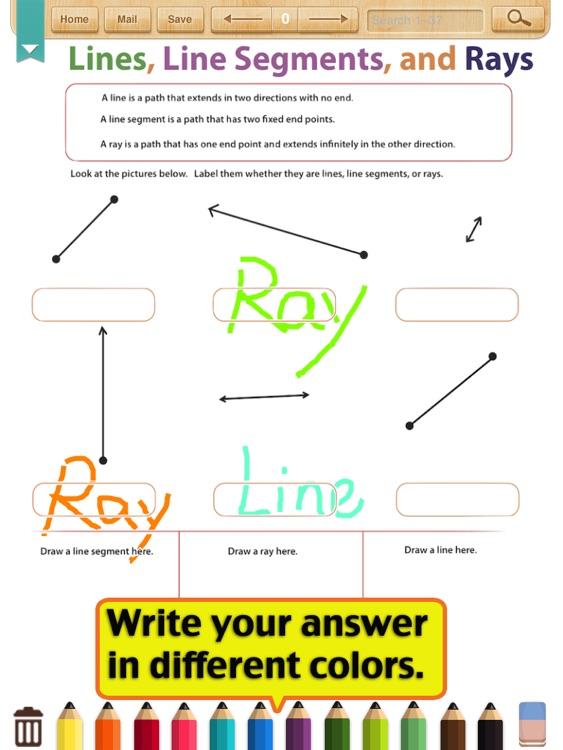 Kids Math Geometry Worksheetsgrade 4 By Shixian Li