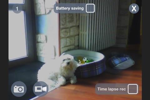 myIPCam IP camera view, recording video time lapse screenshot 2