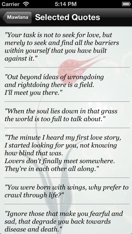 Rumi by Inspiration Ineractive Web and Mobile Technologies