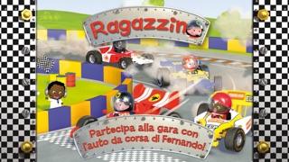 Screenshot of L'auto da corsa di Fernando - Ragazzino1