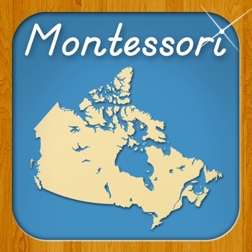 Provinces & Territories of Canada - A Montessori Approach to Geography HD iOS App