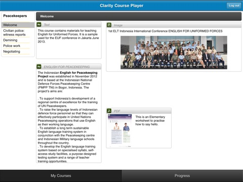 Clarity Course Player screenshot 3