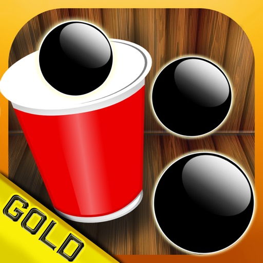 Cups and balls - The midnight winning casino game - Gold Edition iOS App