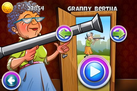 Granny Bazooka : Invasion of the Aliens screenshot 2