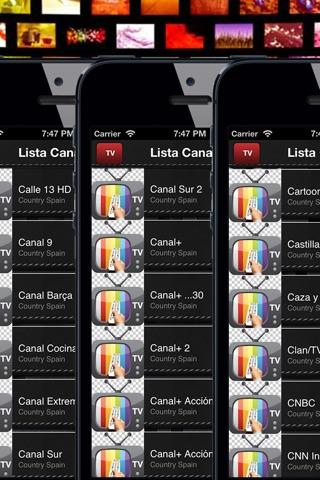 TV España-toda la TDT para ver la programación screenshot 3