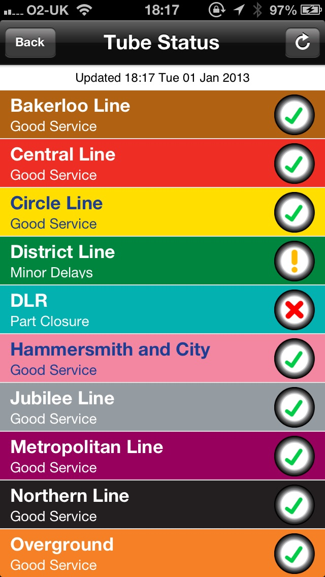 download Real London Tube apps 1