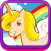 Pretty Unicorns - Magic Flying Stallion Vs. Crazy Dragon Fun Action Game