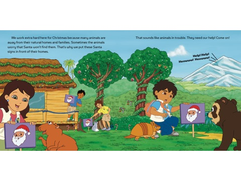 Diego Saves Christmas (Go, Diego, Go!) by Nickelodeon Publishing ...