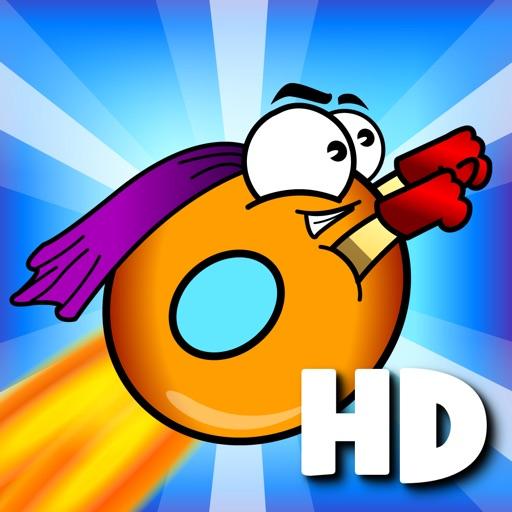 翻滚的甜甜圈:Hot Donut HD【横版跑酷】