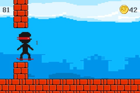Hover Harry - The Kickflip Flying Ollie Skateboard Game screenshot 3