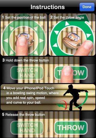 Monkey Bowl Lite - Free Bowling Fun in the Jungle screenshot 3