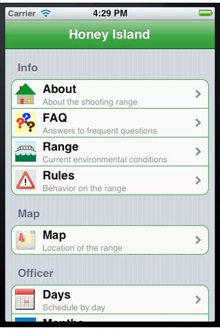 Honey island app insight download for Honey island shooting range