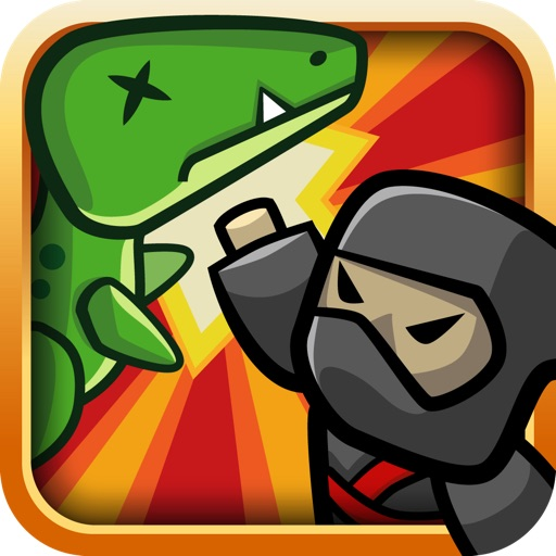 Ninja Dinosaur Showdown?!