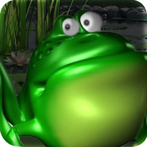 Addictive Jumpy Frog On Leaves Free: Funny Challenging Game On Top Water iOS App