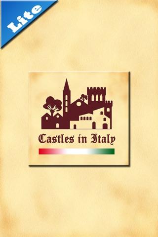 Castelli d'Italia Lite screenshot 1