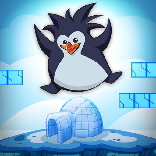 A Penguin Ice-Cube Run FREE - The Puzzle Club Runner Game iOS App