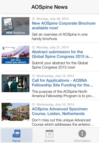 AOSpine News screenshot 2