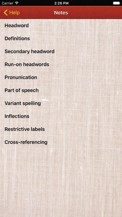 Macmillan Dictionary screenshot1