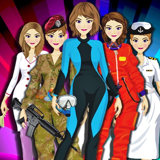 Girls on job - outfit iOS App
