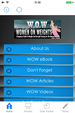 WOW:A Beginners Guide to Weights and Strength Training for the Modern Woman screenshot 1