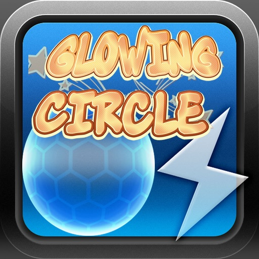 Glowing Circle iOS App