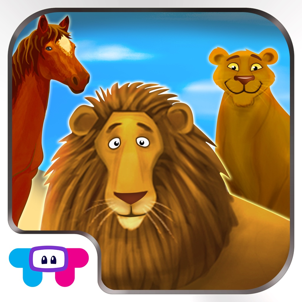 Animals Zoo - Interactive Flash Cards - Jungle Wild Life