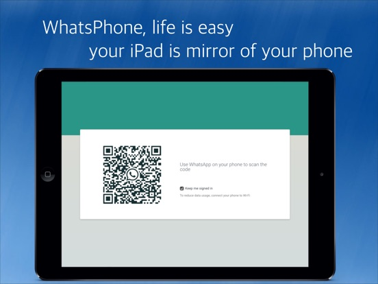 WhatsPhone for whatsap client Screenshots
