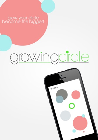 Growing Circle screenshot 1