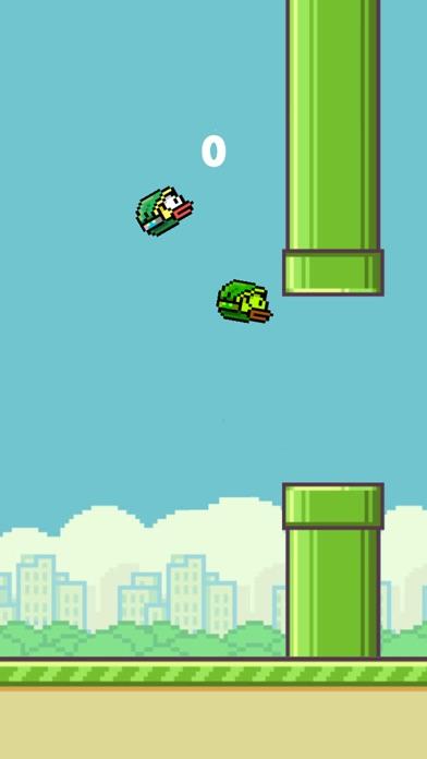 Flappy 2 Players - 彼らは鳥をピクセルのスクリーンショット3