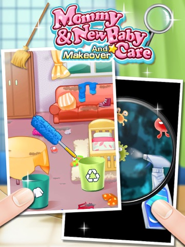 Mommys Little Helper Newborn Baby Room Cleaning game on the App