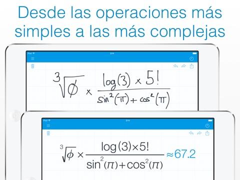 MyScript Calculator - Calculadora de escritura manual