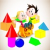 Shape Colour For Kid - Educate Your Child To Learn English In A Different Way kid mountain shape